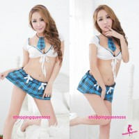 Student Uniform School Girl Dress Costume Cosplay Sexy Lingerie Q012