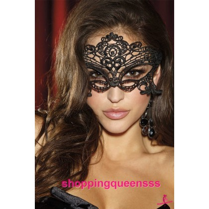 Black Eye Mask Catwoman Cosplay Costume Partywear Sexy Lingerie Accessories TSN001