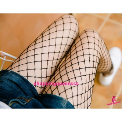 Sexy Lingerie Fishnet Mesh Stocking Pantyhose Socks Hosiery Sleepwear Nightwear W8130M