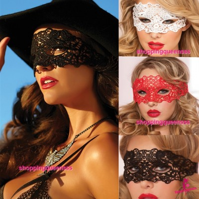 Eye Mask Cosplay Costume Partywear Sexy Lingerie Accessories (3 Colors) MM202