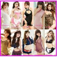 Costume Collection Cosplay Nightwear Sleepwear Sexy Lingerie Clubwear Pajamas V2