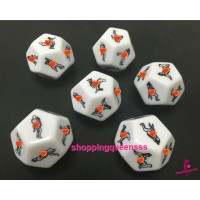 12 Face / Sides Fun Adult Dice Couple / Lover Game SADI-1