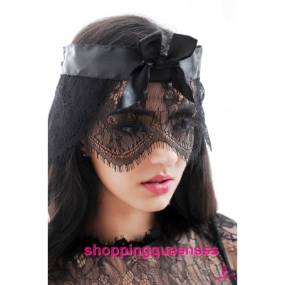 Black Lace Eye Mask Cosplay Costume Partywear Sexy Lingerie Accessories M198