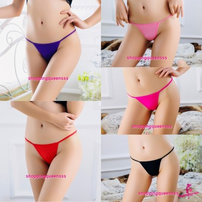 Sexy Women Underwear Thong Panties G-String Lingerie (5 Colors) L165