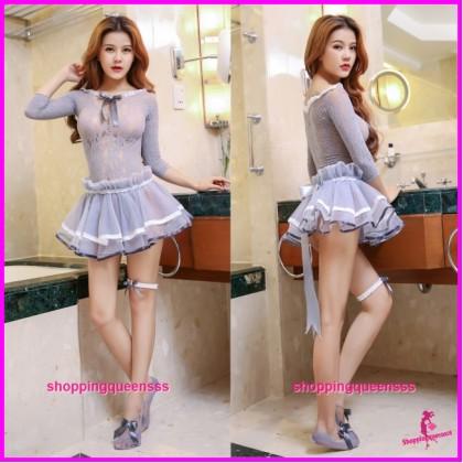 Sexy Body Stocking Dress Hosiery Costume Sleepwear Nightwear Lingerie WL6036