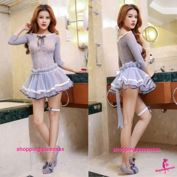 Sexy Body Stocking Dress Hosiery Costume Sleepwear Nightwear Lingerie WL6036