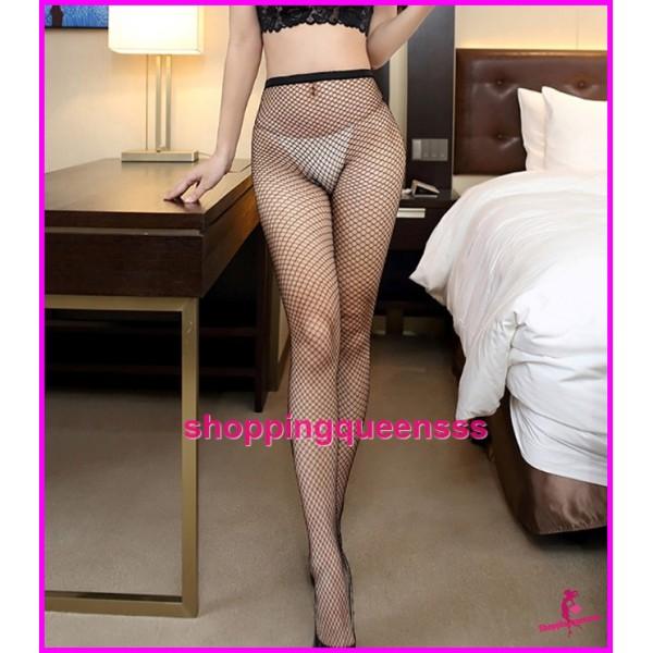 Sexy Lingerie Fishnet Small Mesh Stocking Socks Pantyhose Sleepwear Nightwear W8130