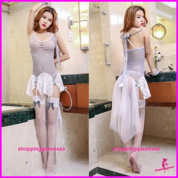 Sexy Body Stocking Dress Hosiery Costume Sleepwear Nightwear Lingerie WL6050
