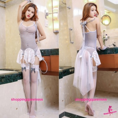 Sexy Body Stocking Dress Hosiery Costume Sleepwear Nightwear Lingerie WL6050